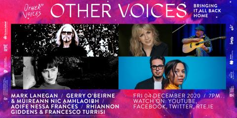 Fri 4 Dec   Aoife Nessa Francis, Mark Lanegan, Rhiannon Giddens and Francesco Turrisi and Gerry O'Beirne + Muireann Nic Amhlaoibh