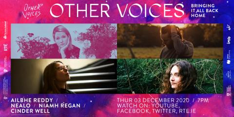 Thu 3 dec | Ailbhe Reddy, Cinder Well, Nealo + Niamh Regan