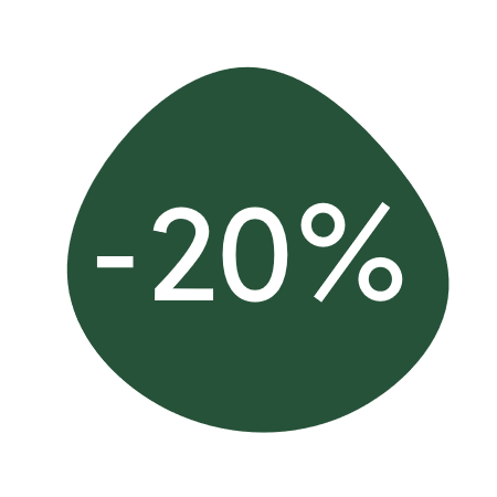20%discount