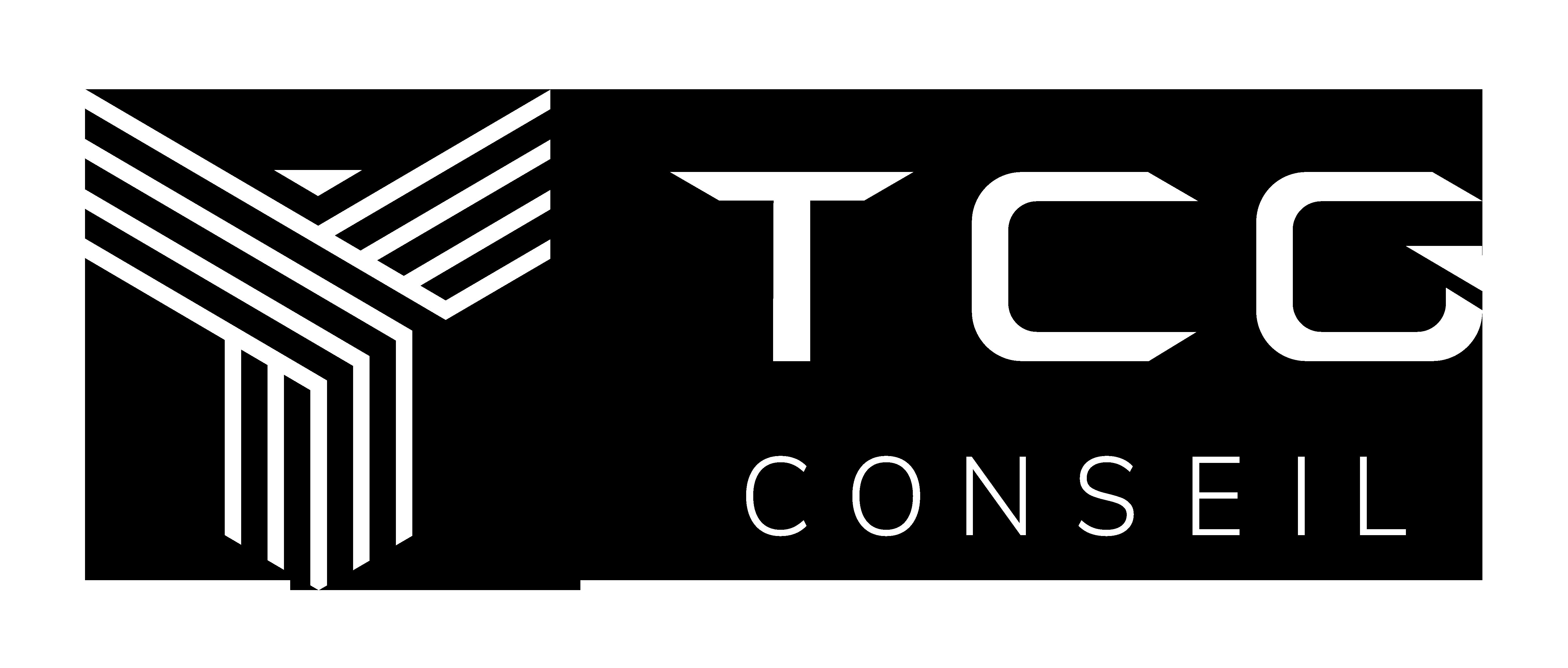 Logo TCG Conseil Blanc