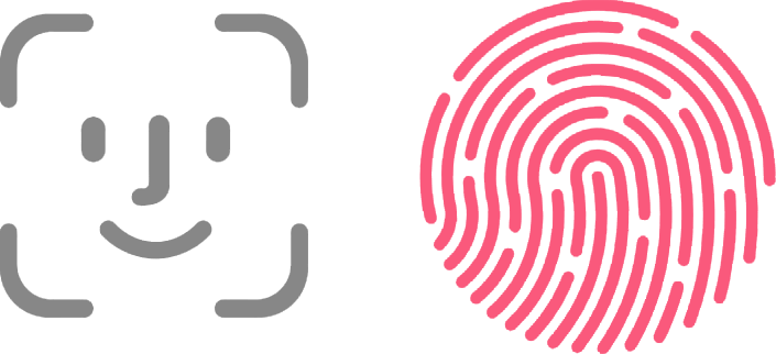 Apple Face ID / Touch ID