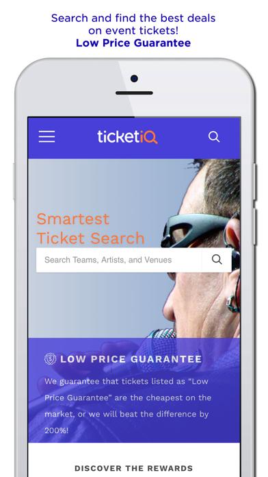TicketIQ  Low Price Guarantee