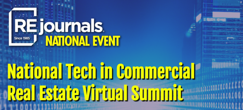 brochure for national tech in commercial real estate virtual summit