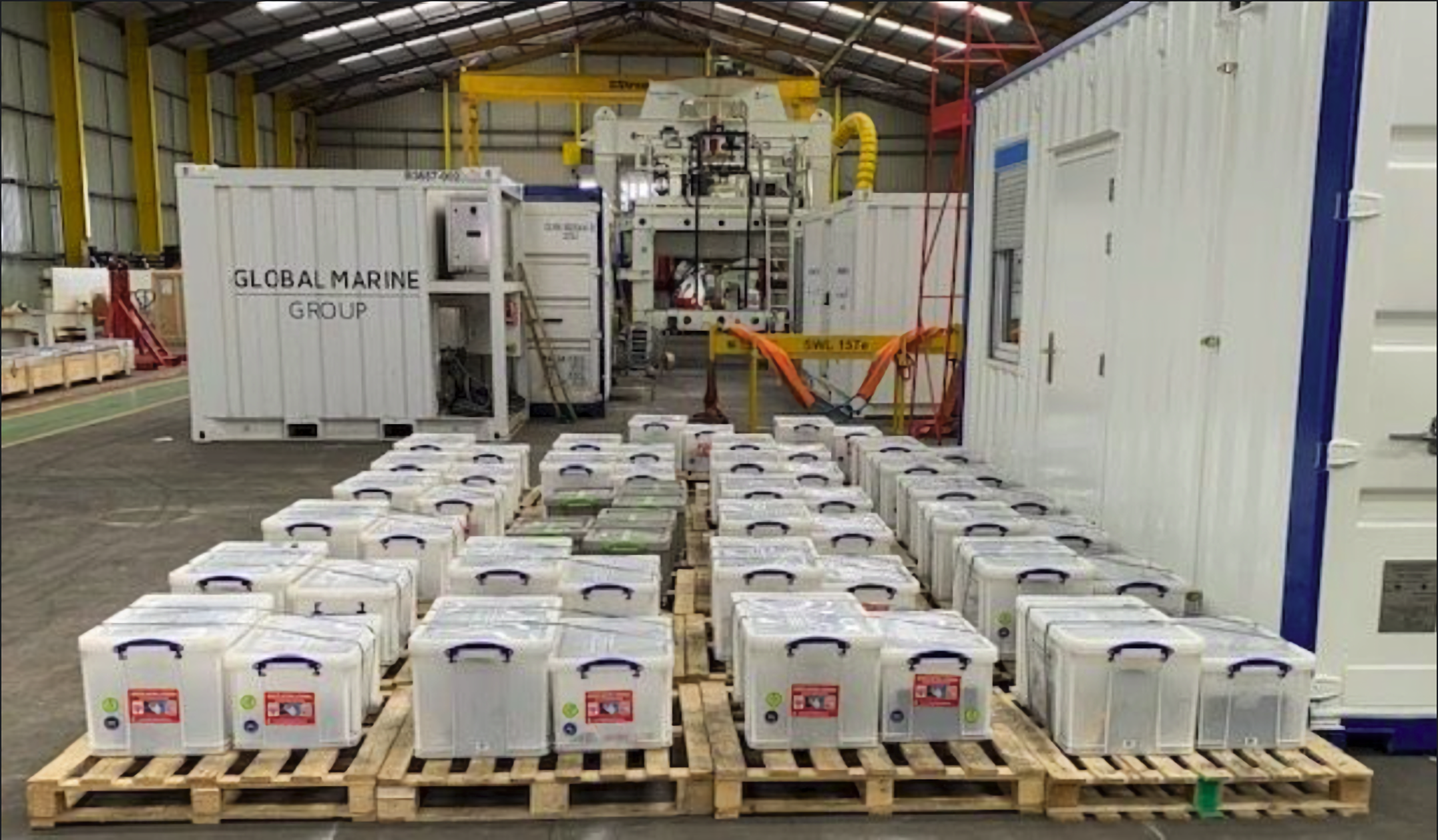 Successful shipment of components to Vattenfall