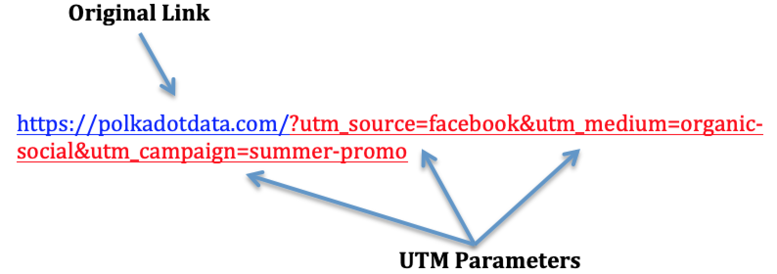 UTM tracking example