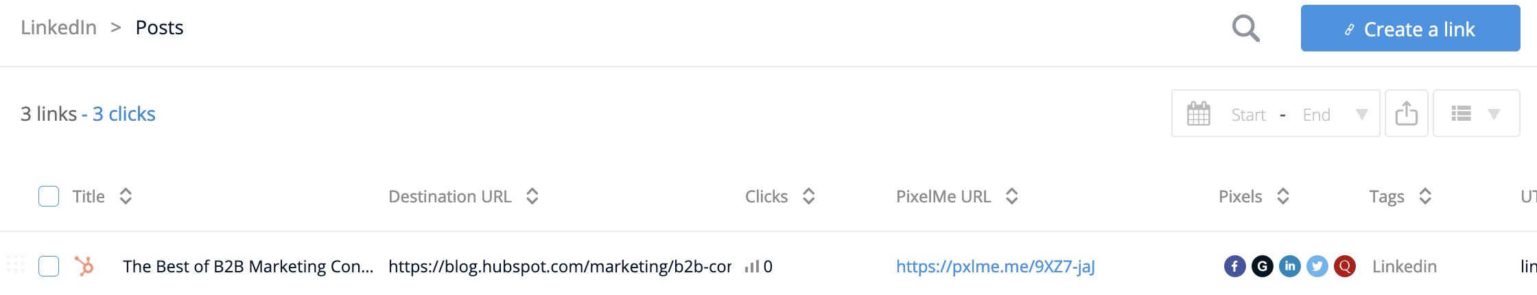 New PixelMe link