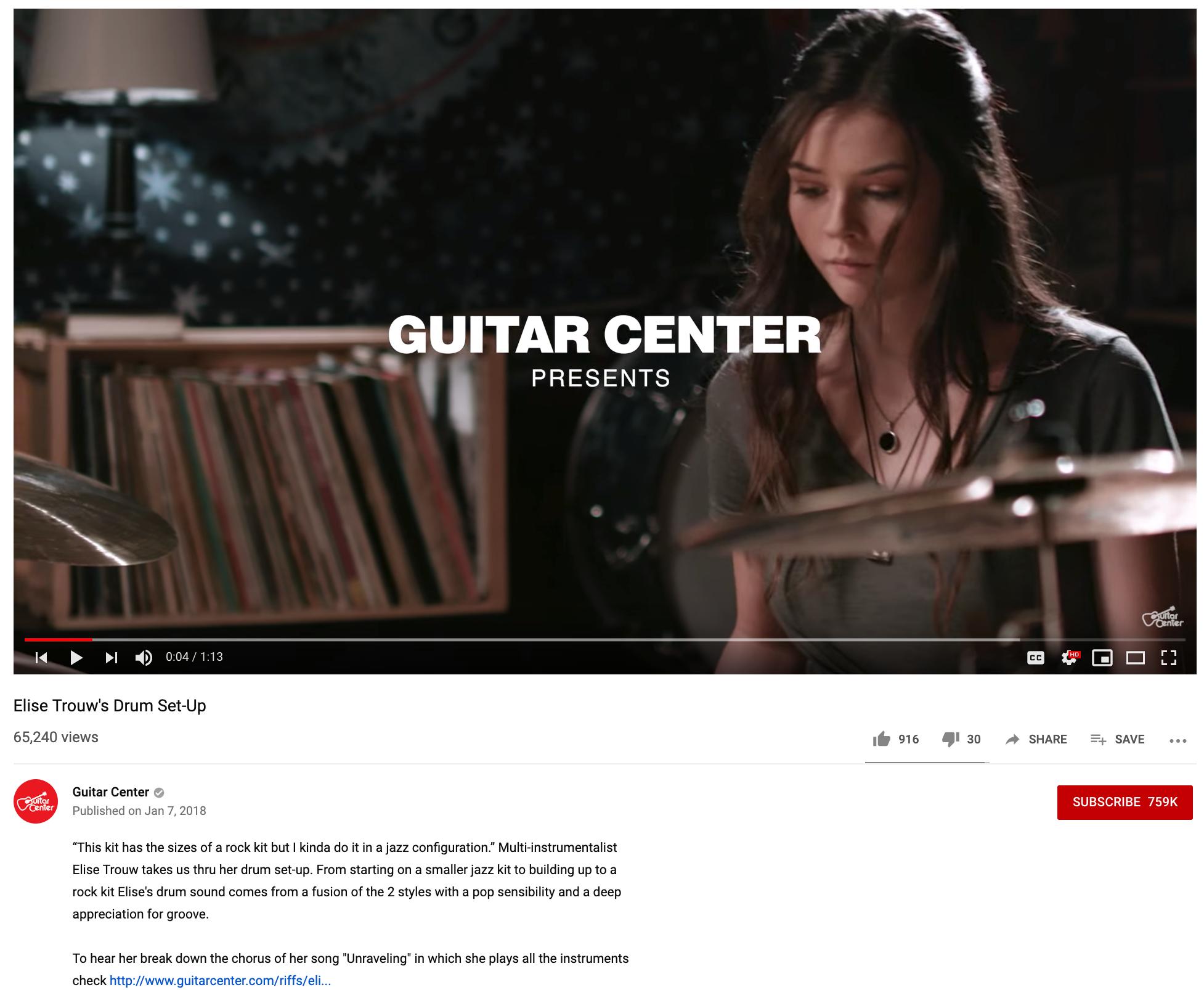 Guitar Center YouTube