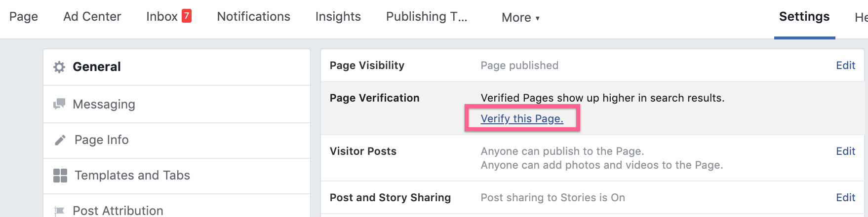 Step 4: Verify this Page