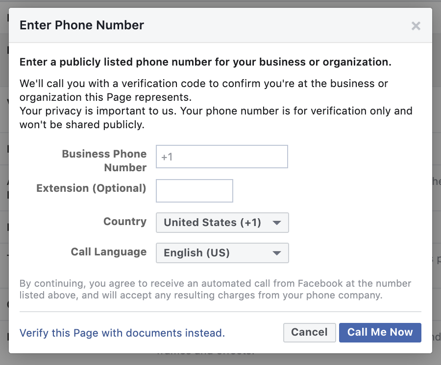 Step 5: Phone Number