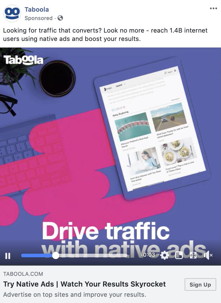Taboola video