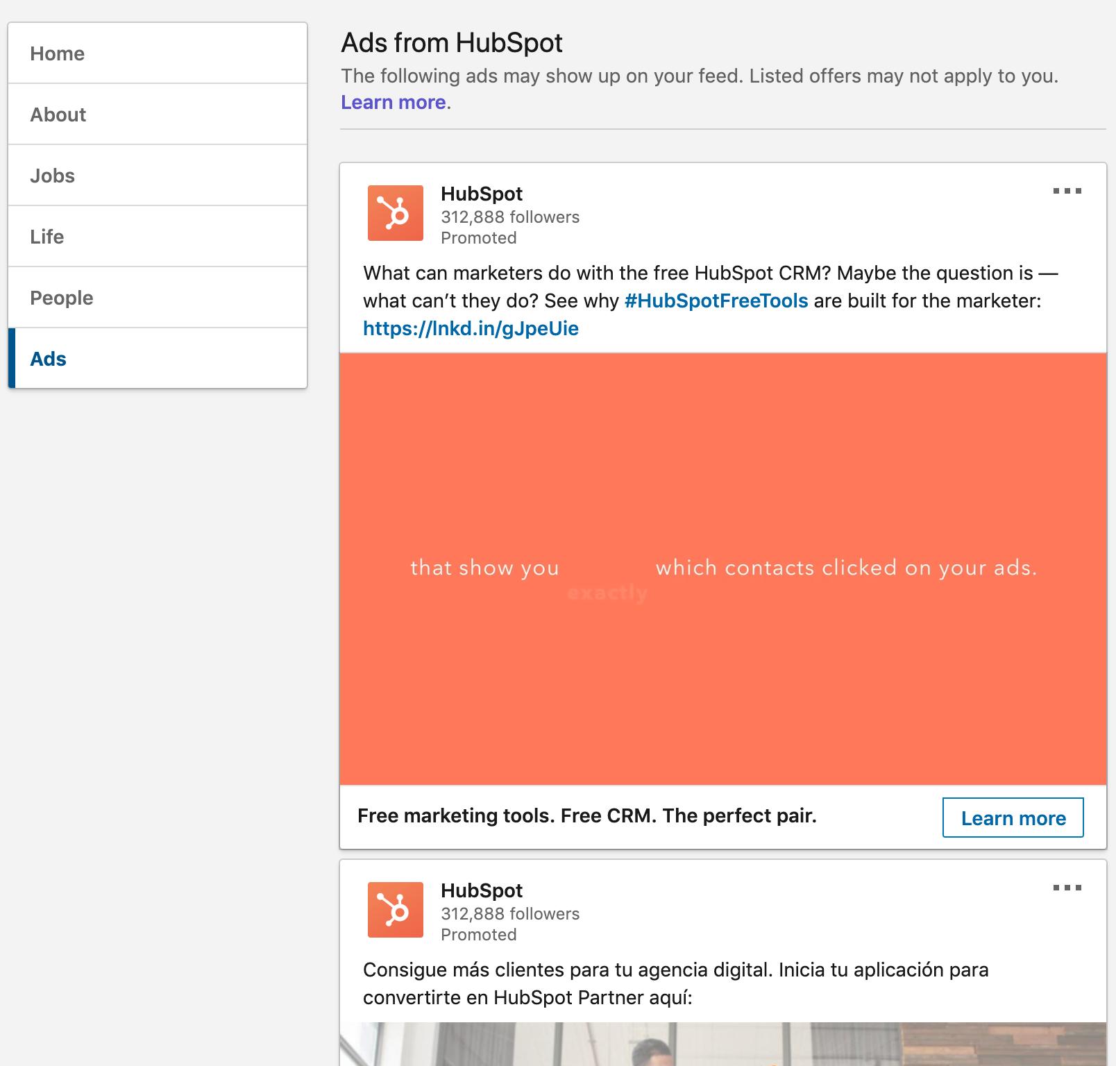 HubSpot LinkedIn Ads