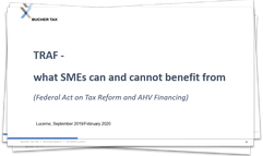TRAF - what SMEs can and cannot benefit from
