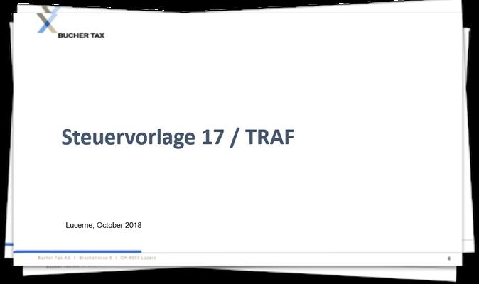 Steuervorlage 17 / TRAF