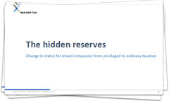 Tax treatment of hidden reserves during change of legal status