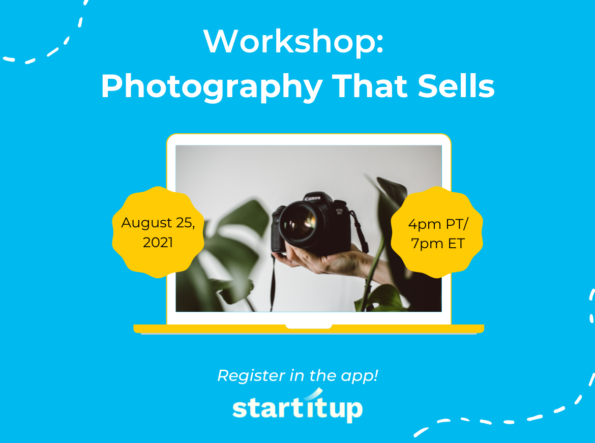 Workshop: Photography That Sells