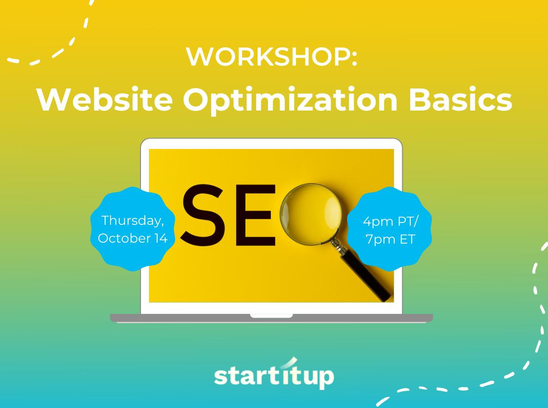 Workshop: Website Optimization Basics