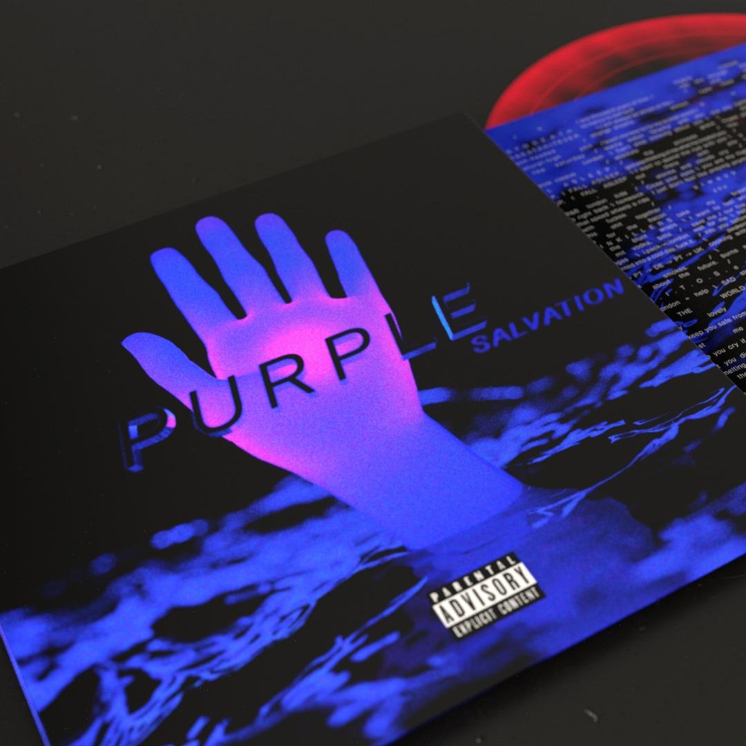 Purple: Salvation EP Redesign
