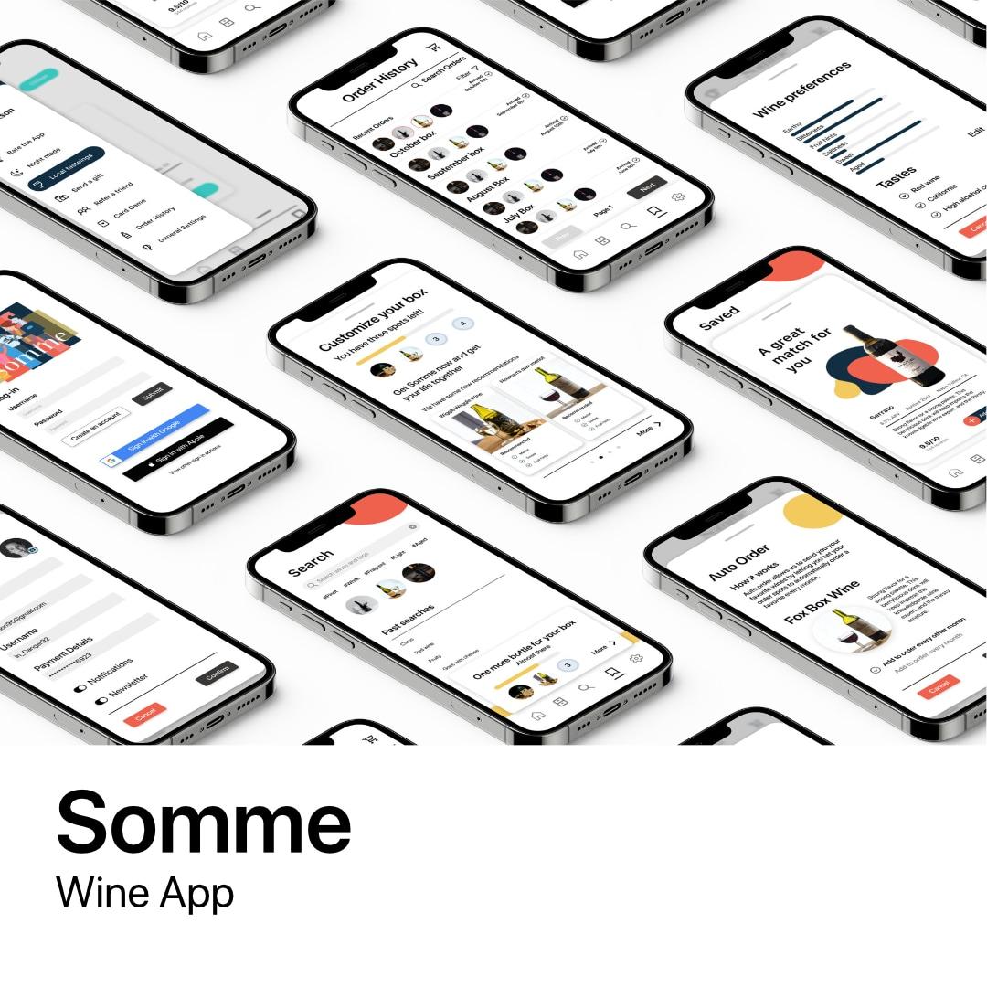 Somme Wine App