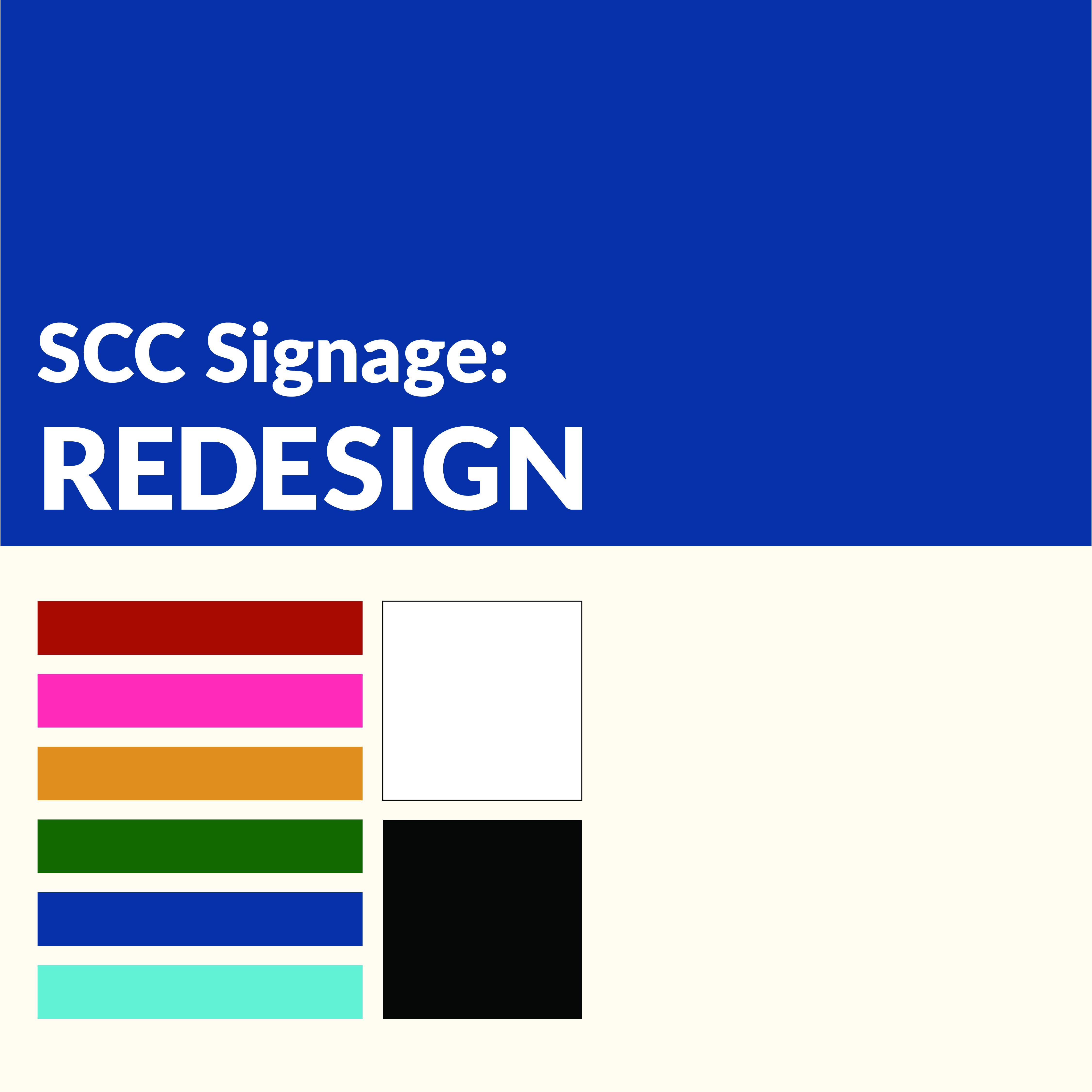 SCC Signage