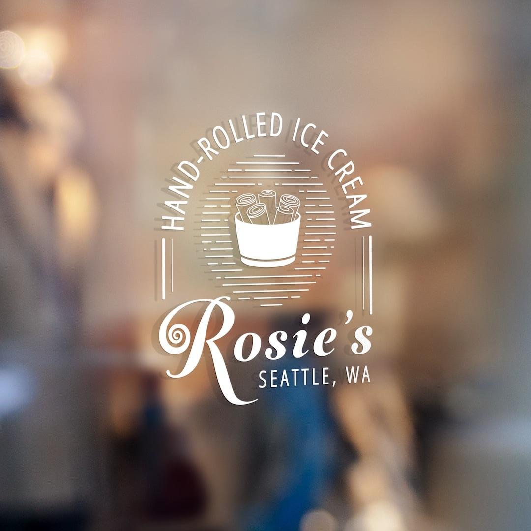 Rosie's Rolled Ice Cream