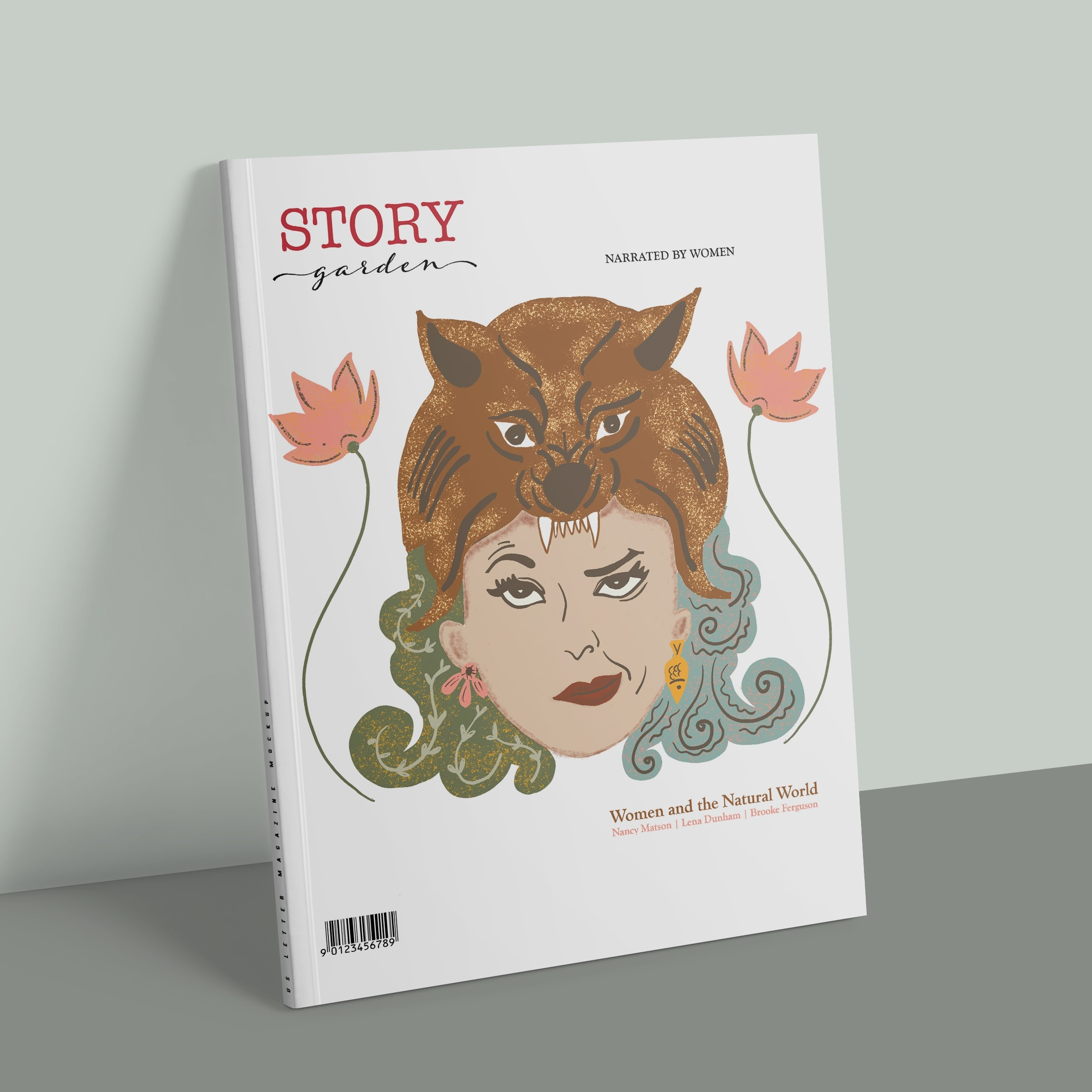 StoryGarden Magazine: Editorial Design