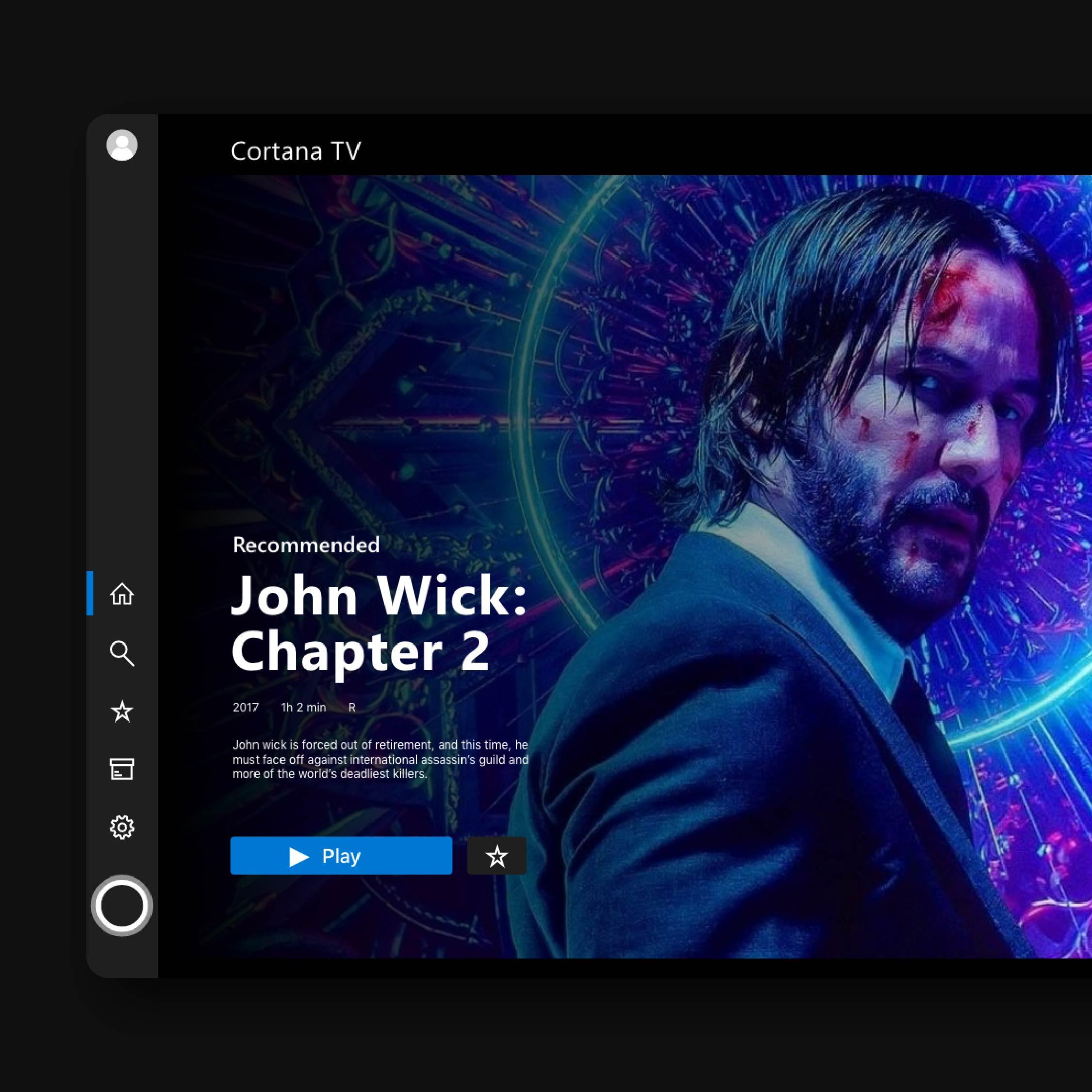 Microsoft Cortana TV