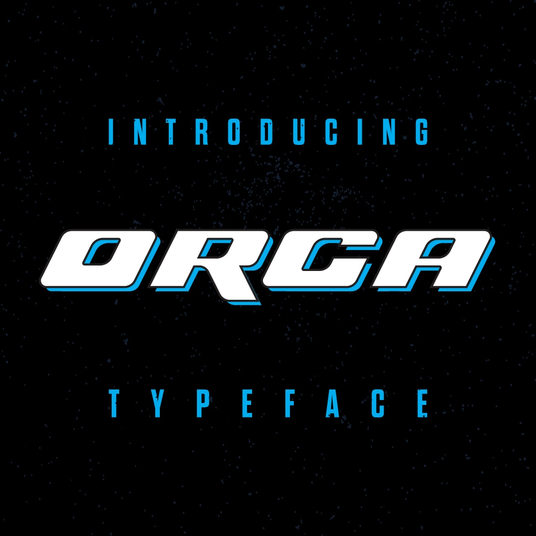 ORCA Display Typeface