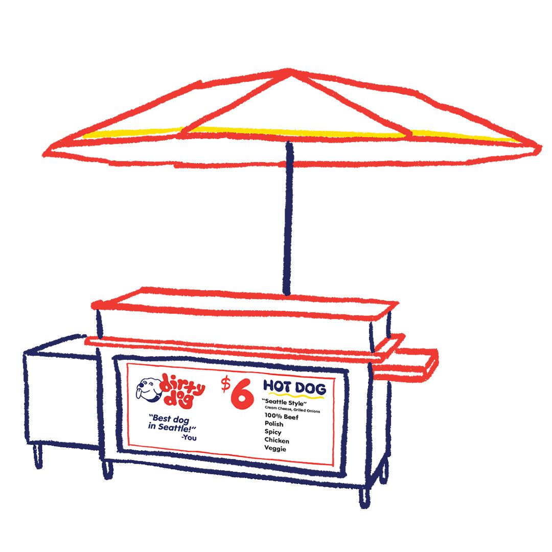 Dirty Dog Hot Dogs Rebranding