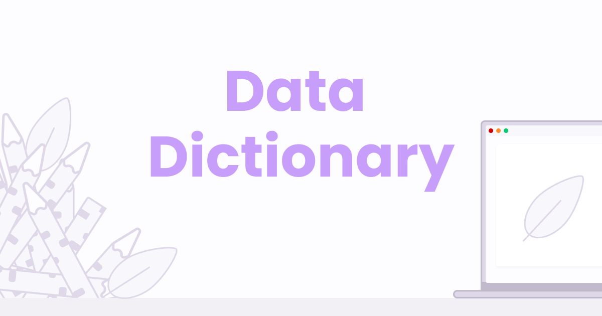 Why do you hate your data dictionary ?