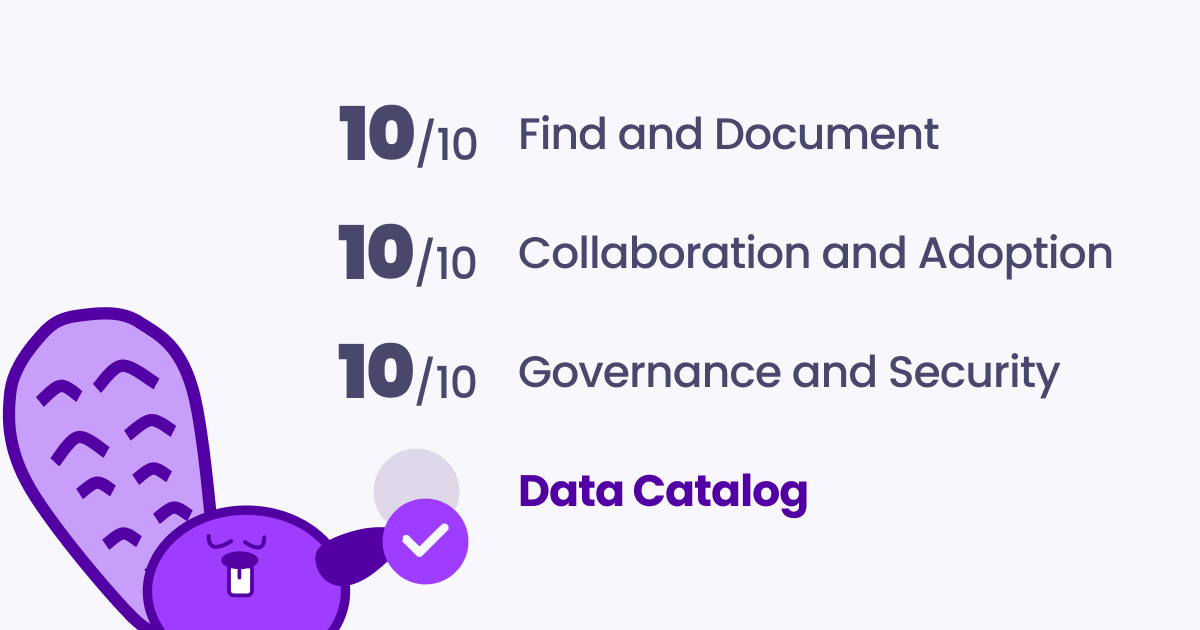 Guide to evaluating a data catalog