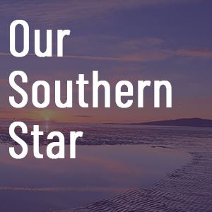 Our southern star tile with scenic background