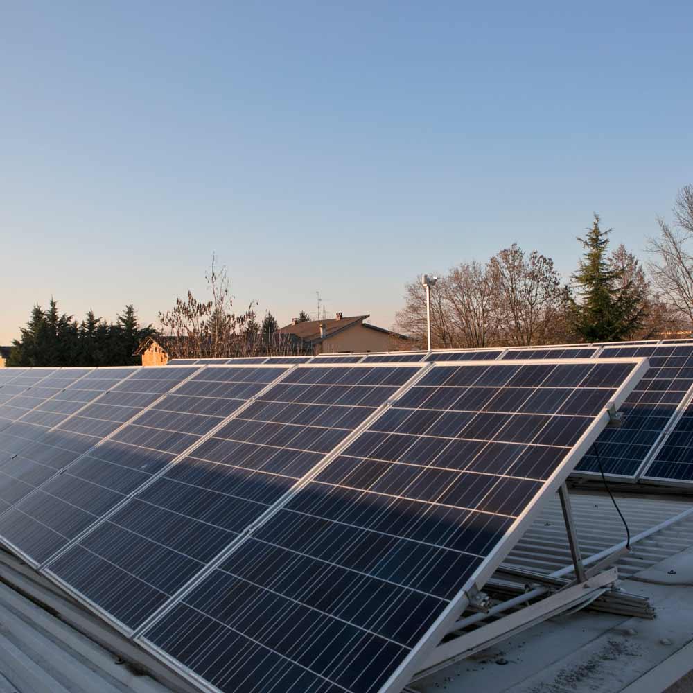 L'autosufficienza di Decsa grazie ai pannelli solari