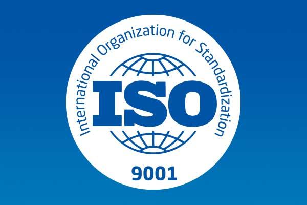 Decsa è certificata secondo lo standard ISO 9001
