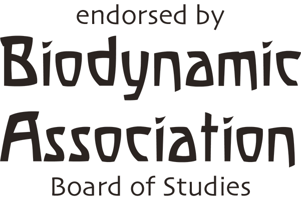 Endorsed ny Biodynamic Association Board of Studies