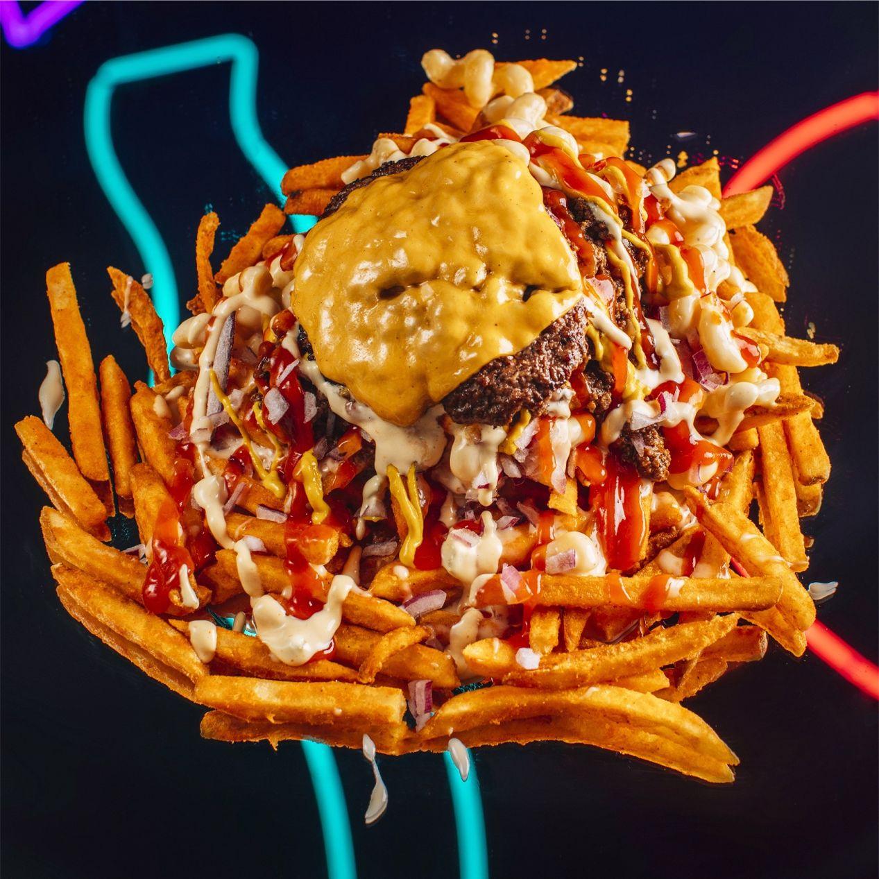 Gahhbage Smash Fries