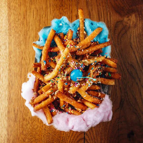 Carnival Funnel Cake Fries