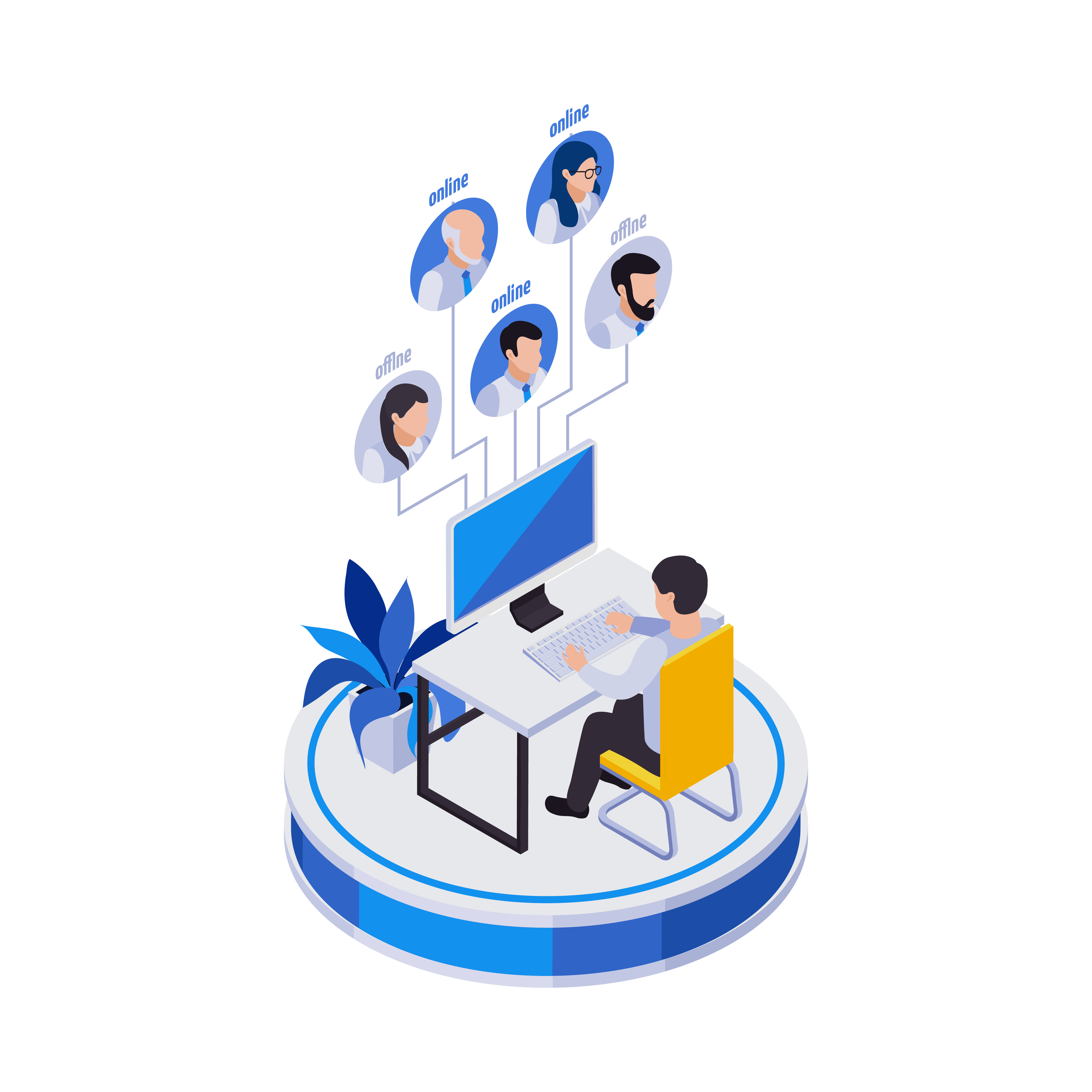visual shows home health care workforce management software