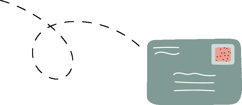 Sending card icon