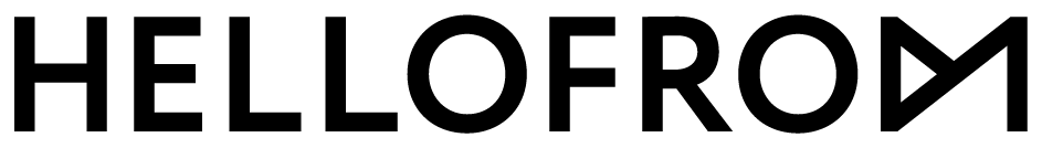 HELLOFROM logo black