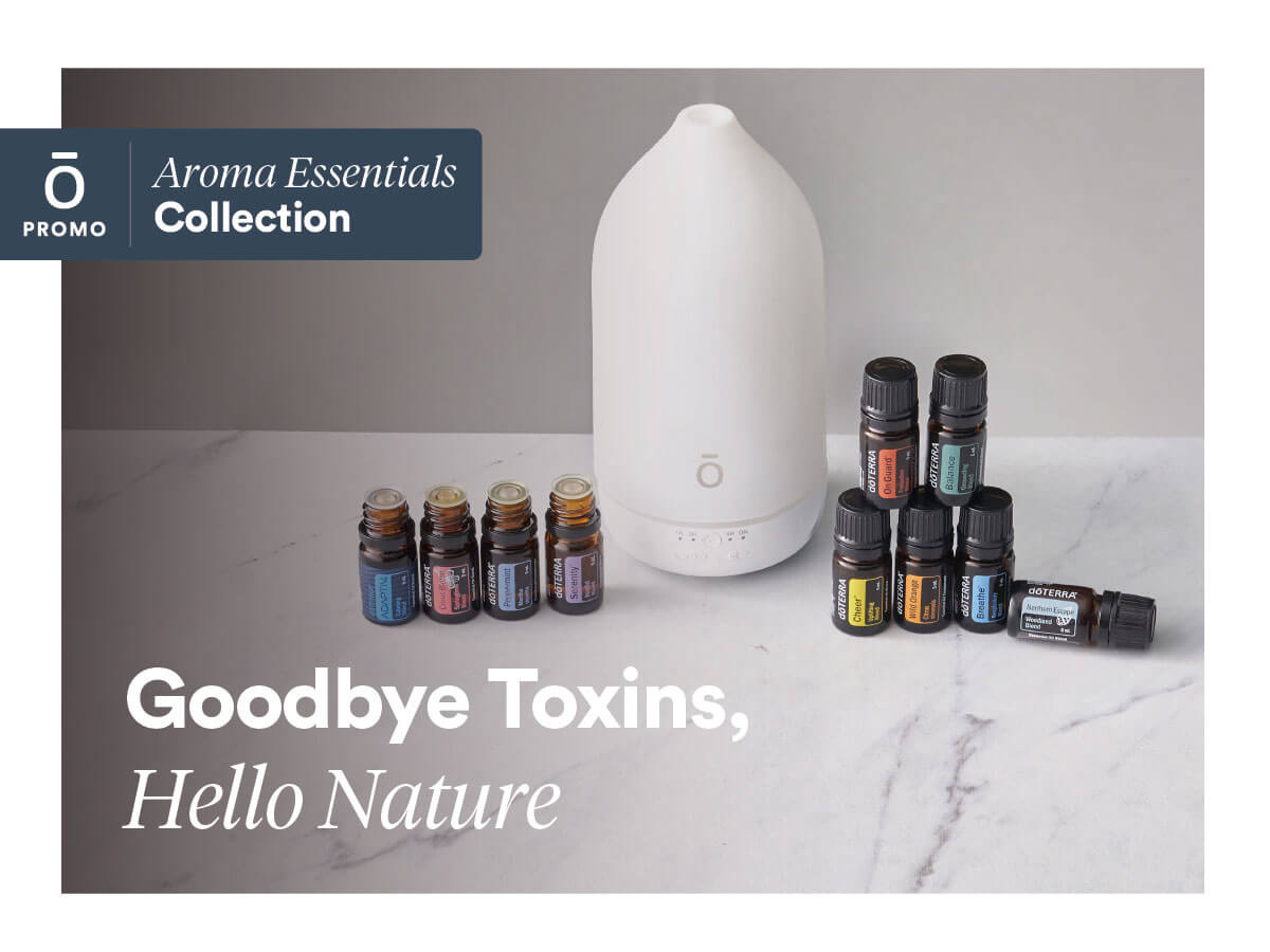 doterra essential oils and diffuser kit