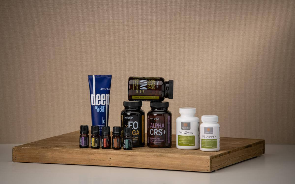 doterra supplements kit with oils