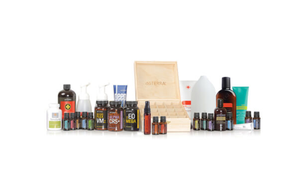 doTERRA Canada's widest selection of products in enrollment kit