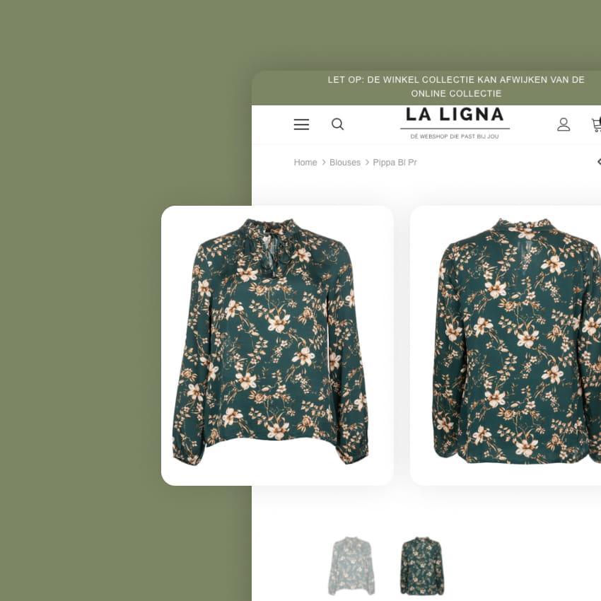 Shopify Webshop La Ligna