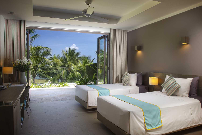 twin bed villa at mia nha trang resort - photo by Halo Digital Media - Nha trang  - hotel hotographer