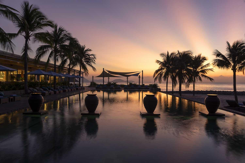 incredible sunset nha trang at mia nha trang resort - photo by Halo Digital Media - Nha trang  - hotel hotographer