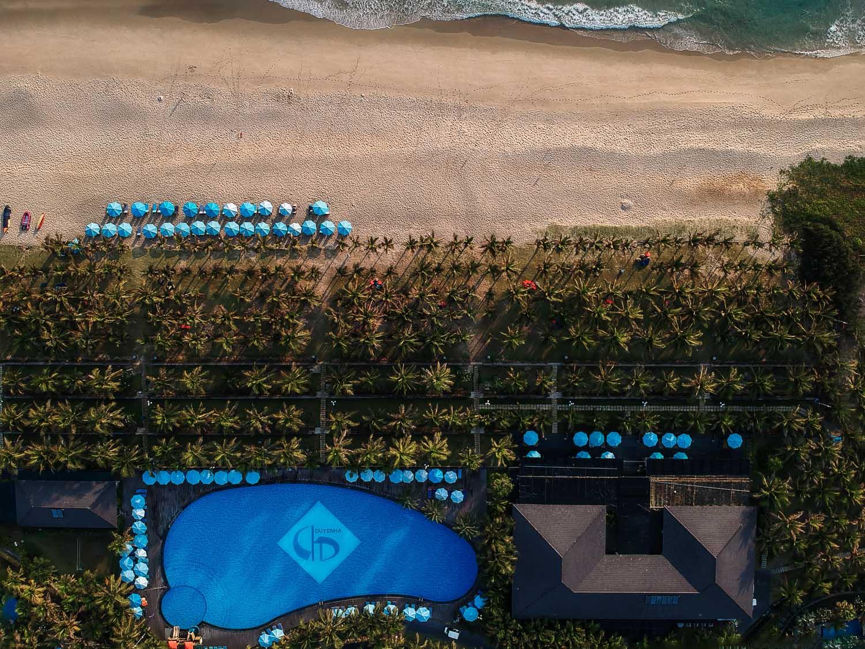 Duyen Ha resort Cam Ranh Beach Overview photo by Halo Digital Media