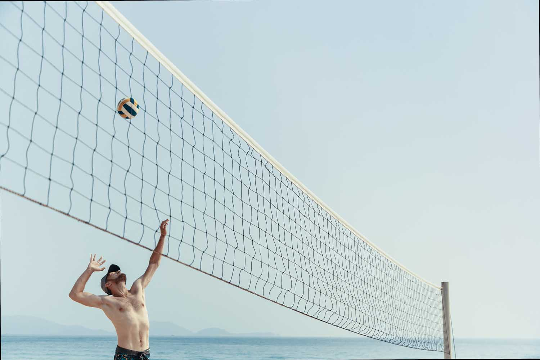 Duyen Ha resort Cam Ranh beach volleyball photo by Halo Digital Media - Vietnam hotel Photography