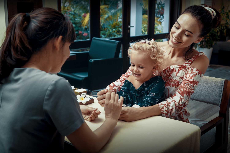 Duyen Ha resort Cam Ranh Beach  family spa time photo by Halo Digital Media - Vietnam hotel Photography