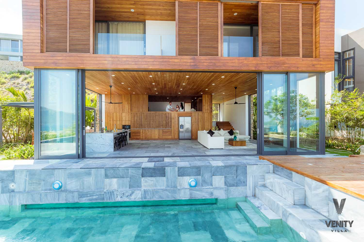 Front view of Venity Villa Nha Trang - photography by Halo Digital Media - Photographer in Vietnam