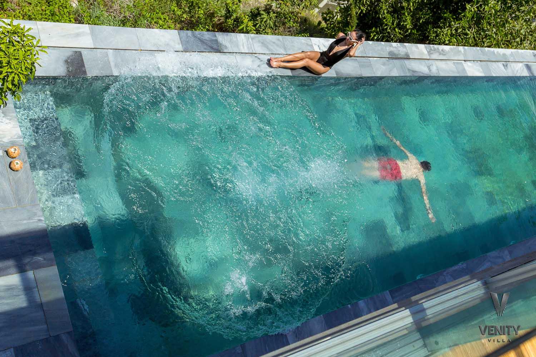 Swimming pool at Venity Villa Nha Trang - photography by Halo Digital Media - Photographer in Vietnam